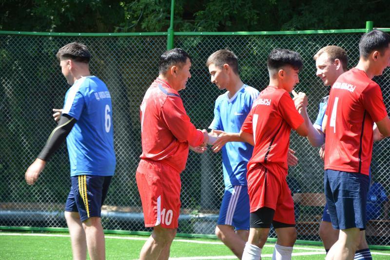 Правоохранительные структуры сыграли в футбол в Акмолинской области