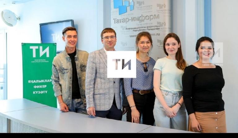 Абайдың 175 жылдығына арналған эстафетаны «Татар-информ» қабыл алды