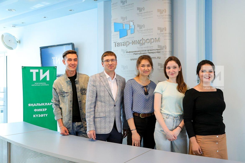 Информагентство «Татар-информ» присоединилось к эстафете #Аbai175
