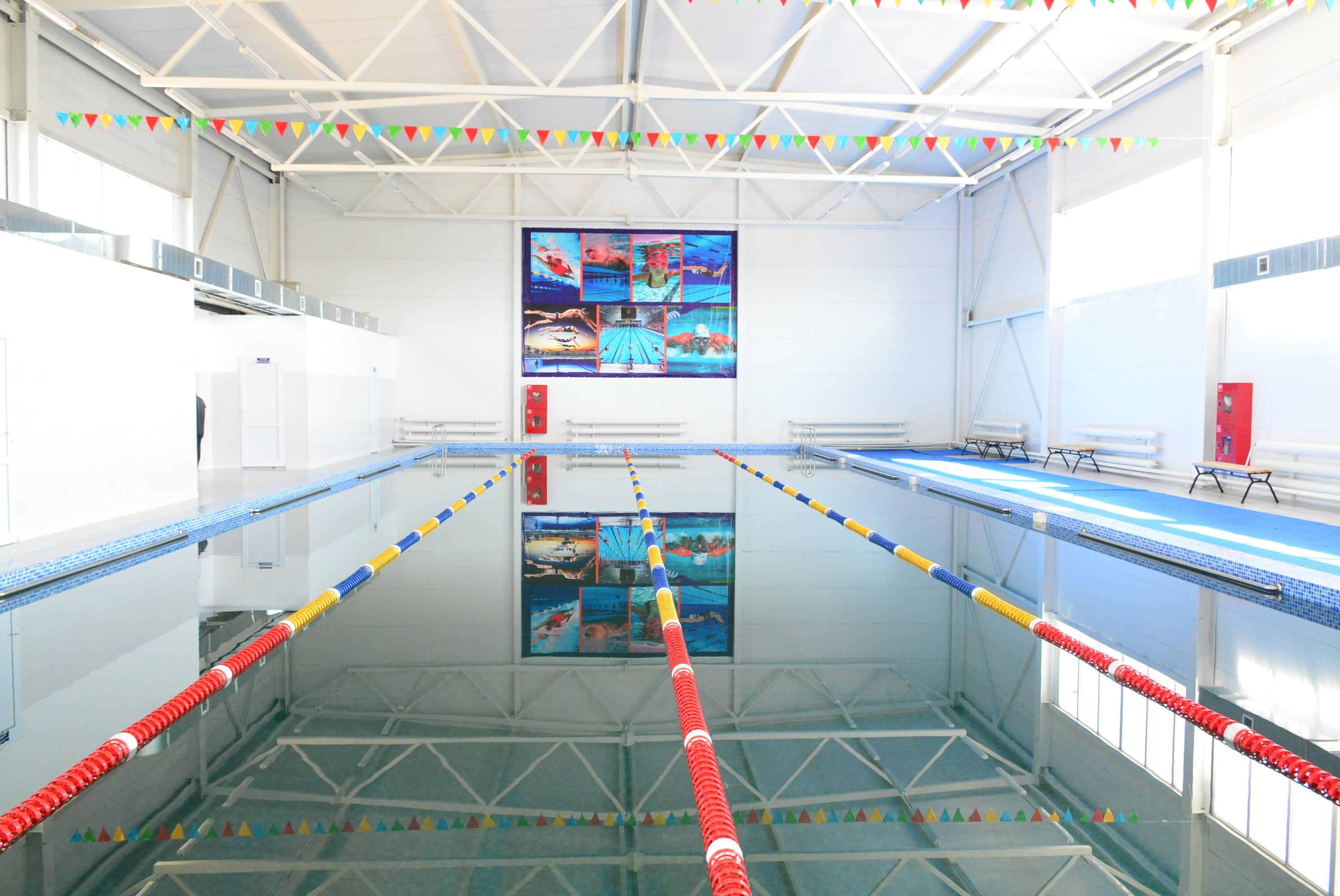 Еще один физкультурно-оздоровительный комплекс открыли в Акмолинской области