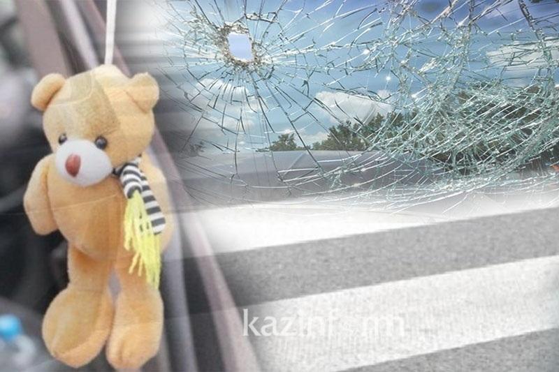 Первоклассницу сбил автомобиль в Актобе