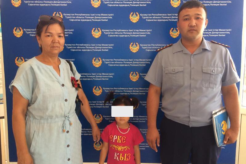 Занятый покупками туркестанец потерял четырехлетнюю дочь