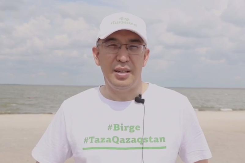 Акмолинская область поддержалаэкологическое движение #Birge #TazaQazaqstan
