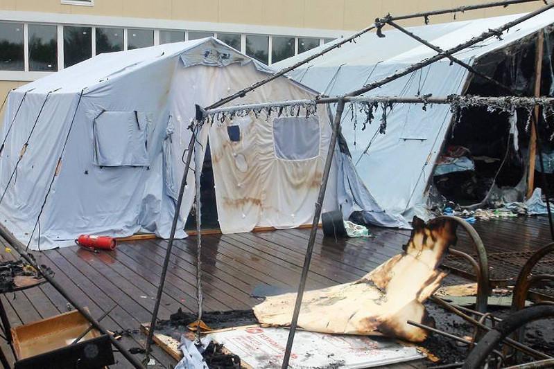 俄罗斯夏令营火灾致4人死亡