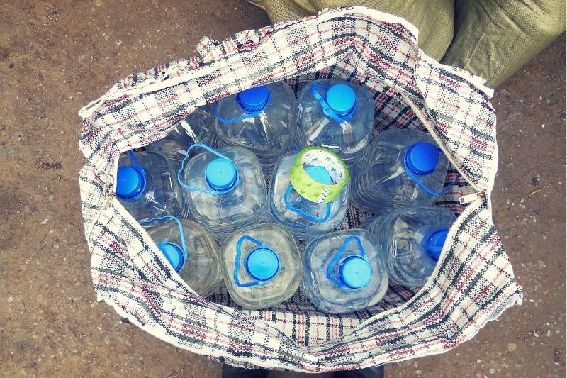 Почти тонну контрафактного спирта изъяли в СКО