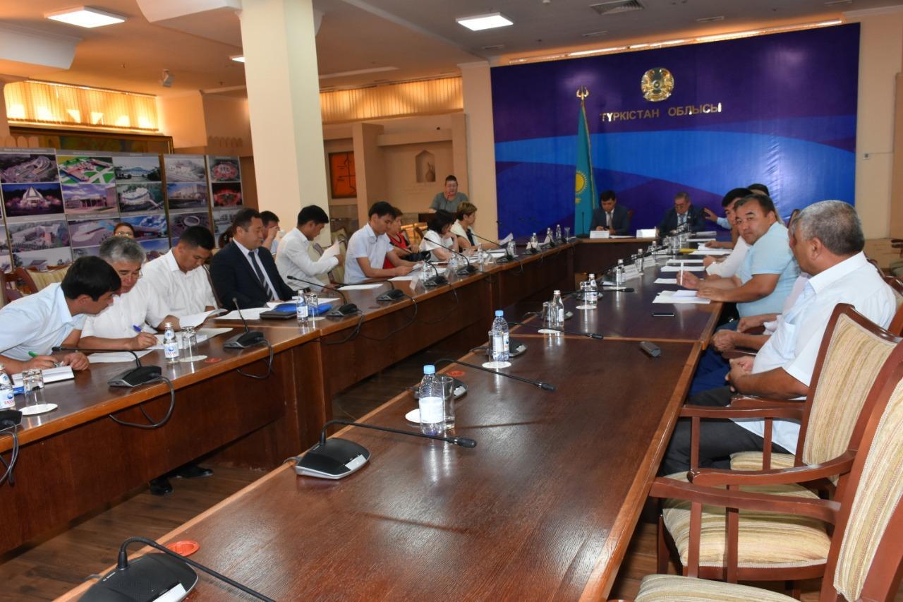 Взаимодействие с НПО обсудили в Туркестанской области