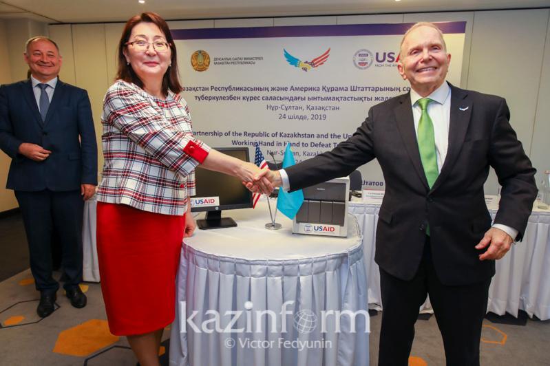U.S. donates early TB detection modules to Kazakhstan