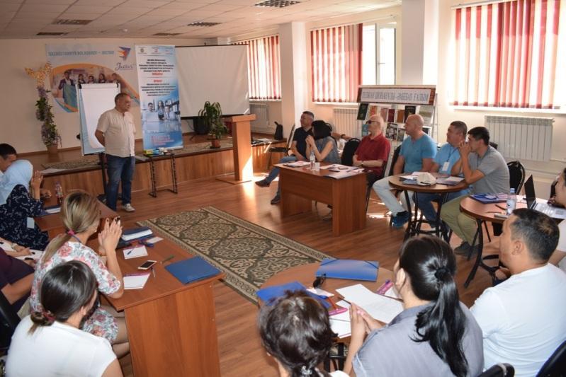 Летняя школа для гражданских активистов стартовала в Актобе