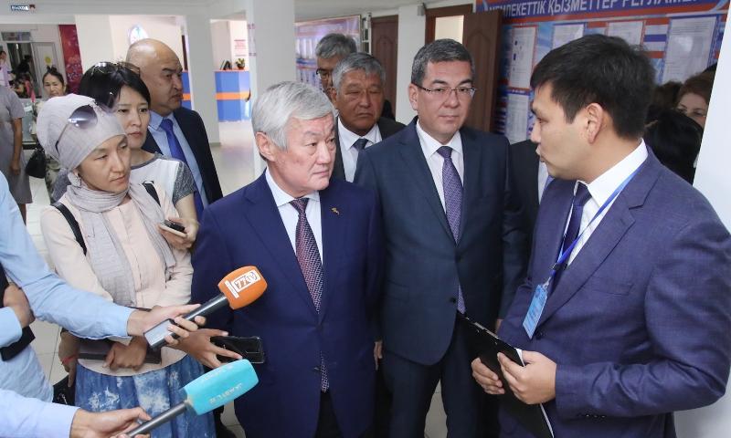 Бердібек Сапарбаев жұмыс сапарымен Жамбыл облысына келді
