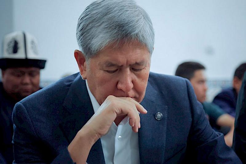 Қырғызстан ІІМ: Атамбаевтың елден шығуына тыйым сала алмаймыз