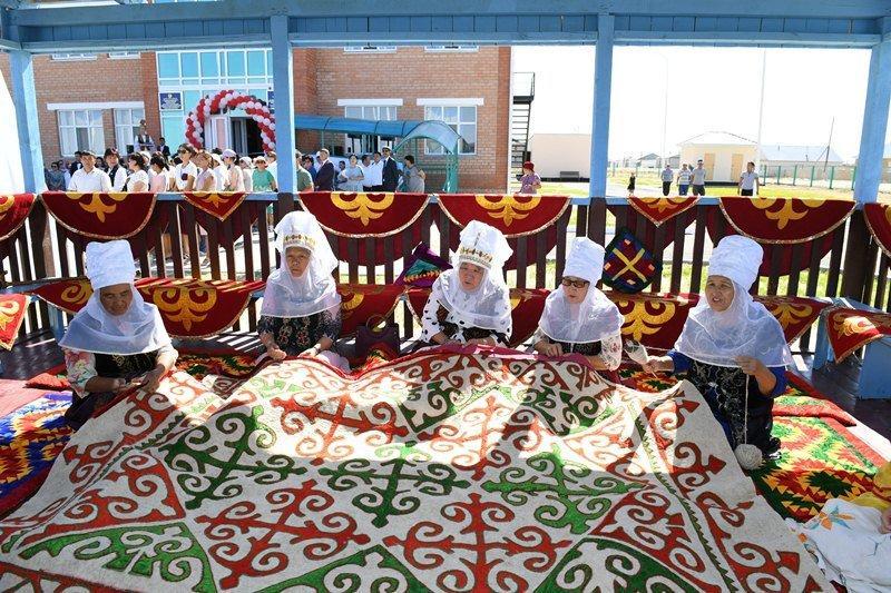 Сельский клуб и бизнес-объекты открыли в Аральском районе Кызылординской области