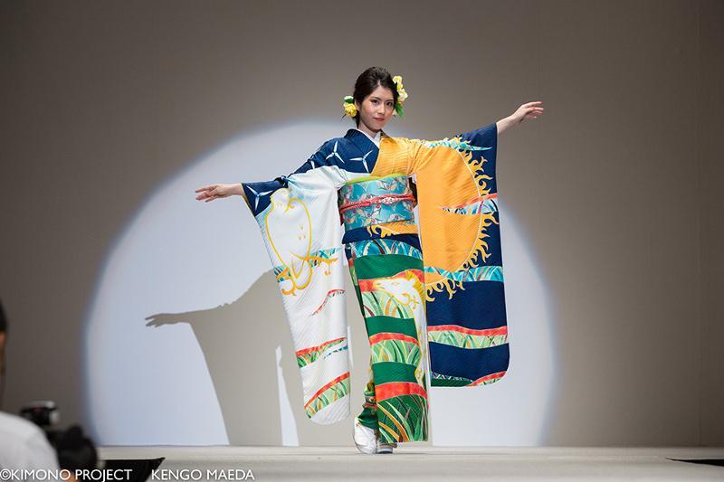 日本推出国别和服迎接奥运 哈萨克斯坦版尽显草原壮美气魄