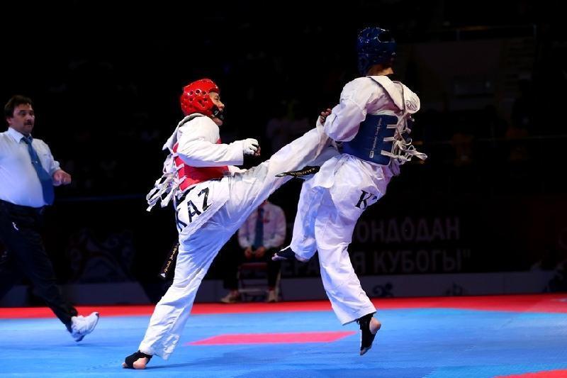 哈萨克斯坦选手在亚洲少年跆拳道锦标赛上再夺7枚奖牌