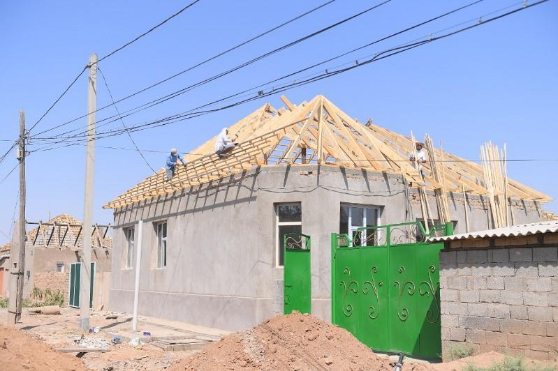 В Арыси завершен ремонт 2 161 дома