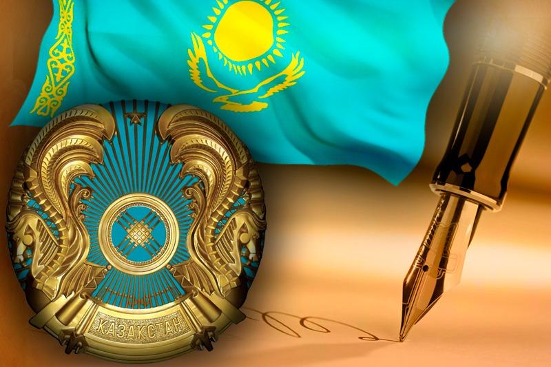 Президент РК наградил егерей Каныша Нуртазинова и Самата Оспанова