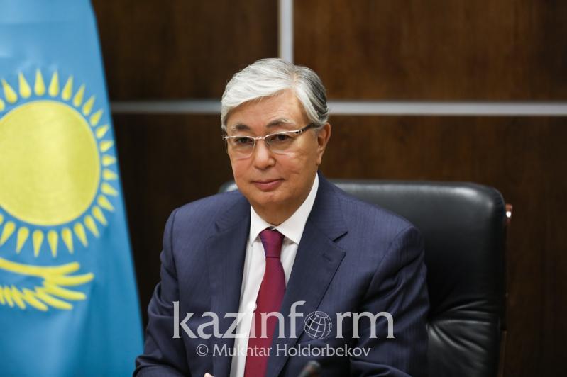 President backs #Birge #TazaQazaqstan campaign