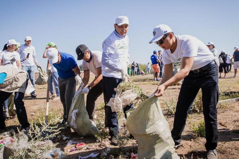 Павлодар примет участие в экомарафоне #Birge #TazaQazaqstan