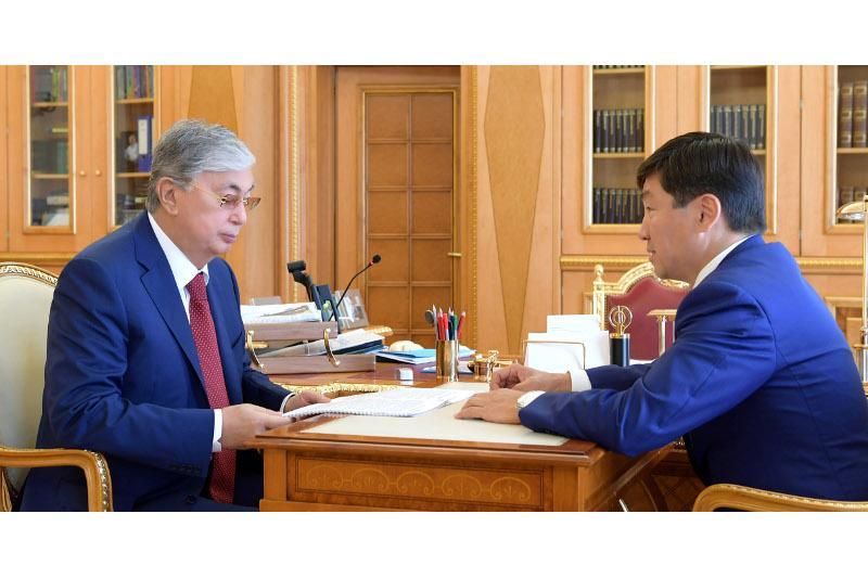 总统接见祖国之光党第一副主席