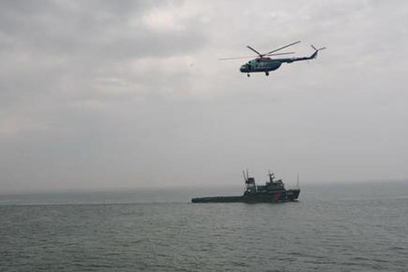 一艘伊朗货轮在里海海域沉没
