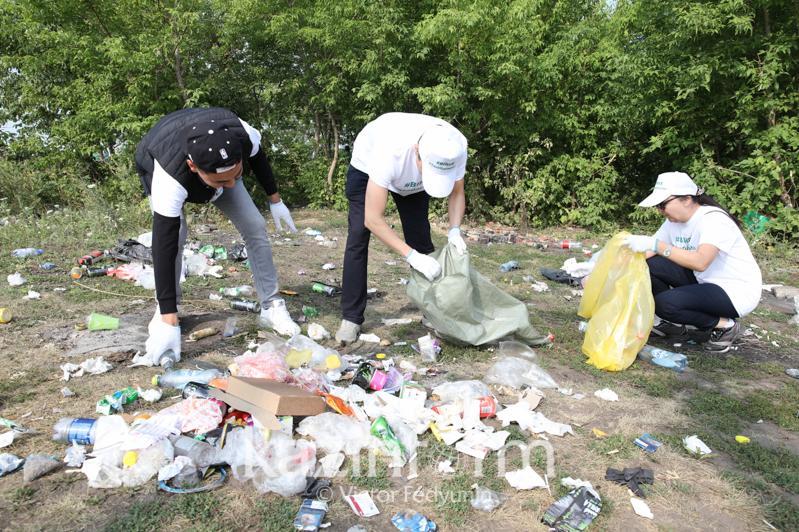 #Birge #TazaQazaqstan: Елордада экологиялық акцияға қатысқандар 16 тоннадан астам қалдық жинады