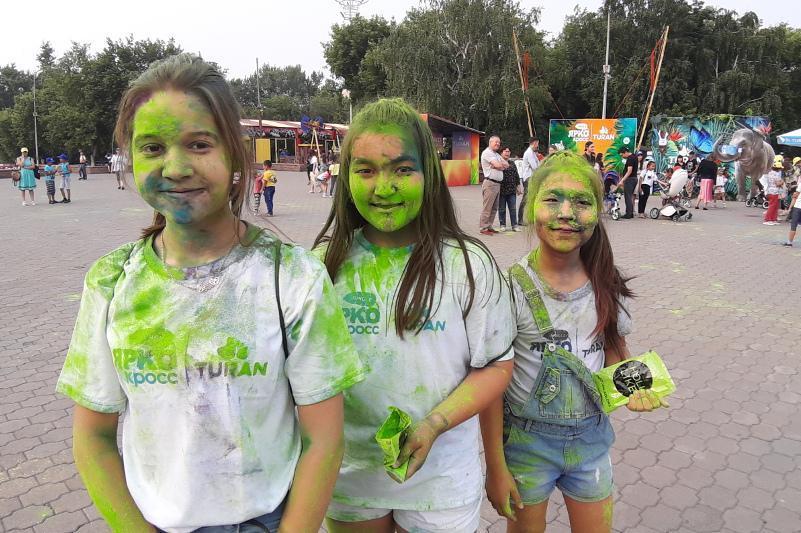 YARKOCROSS颜料狂欢节在阔科设套举行