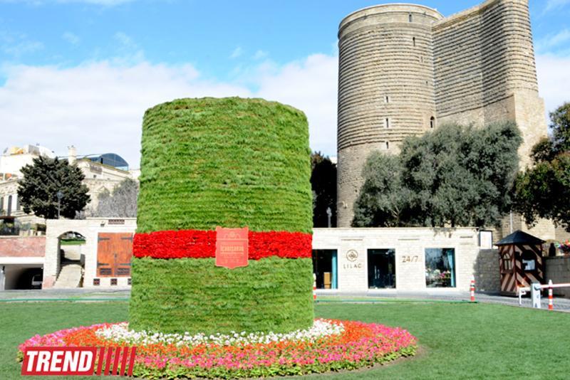 巴库计划今后以嘉年华形式庆祝纳乌鲁兹节