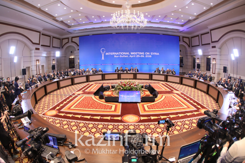 Nur-Sultan to host 13th Intl High-Level Meeting on Syria