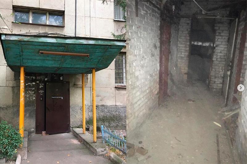 Ксения Ашигалиева показала место, где была избита мужем
