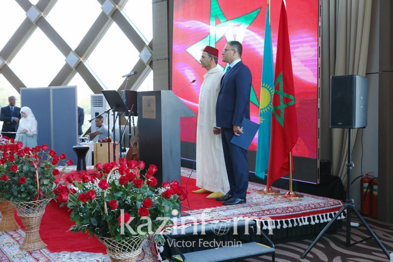 摩洛哥国王登基20周年招待会在努尔-苏丹举行