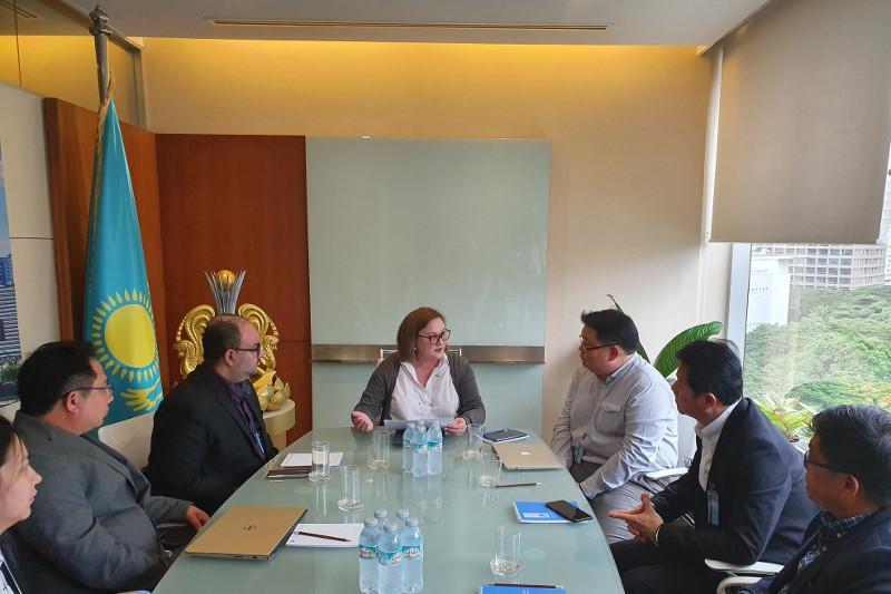 哈萨克斯坦与泰国有意扩大贸易对话