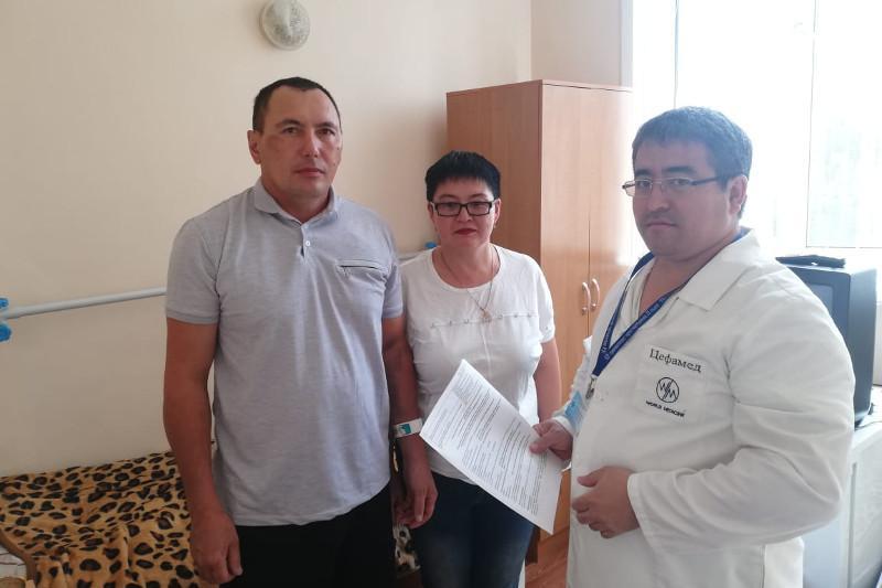 Пострадавшего от рук браконьеров инспектора выписали из больницы