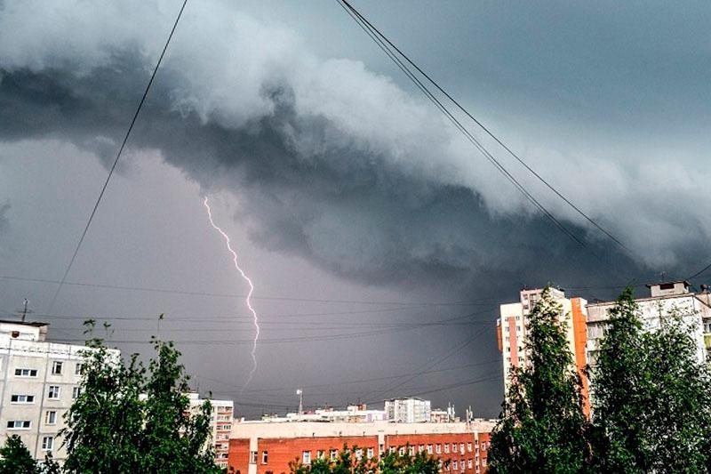 北哈州发布雷电气象预警
