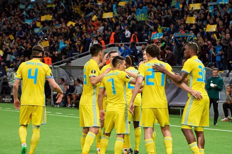 «Астана» разгромила андоррский клуб и прошла дальше в Лиге Европы