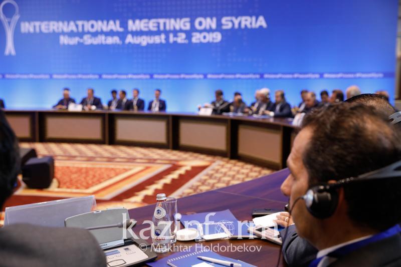Nur-Sultan to host next round of talks on Syria in October