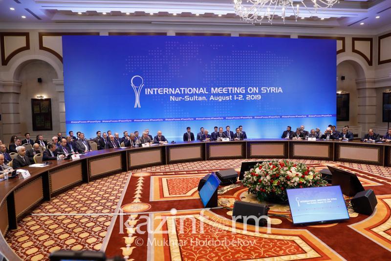Астана процесі: Тараптар Сириядағы оқ атуды тоқтатуға уағдаласты