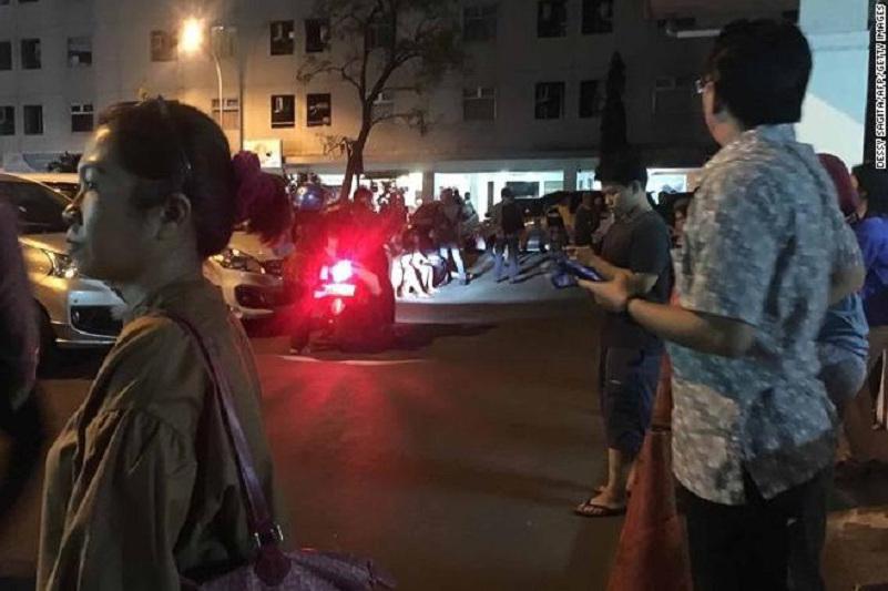印度尼西亚发生7.0级地震