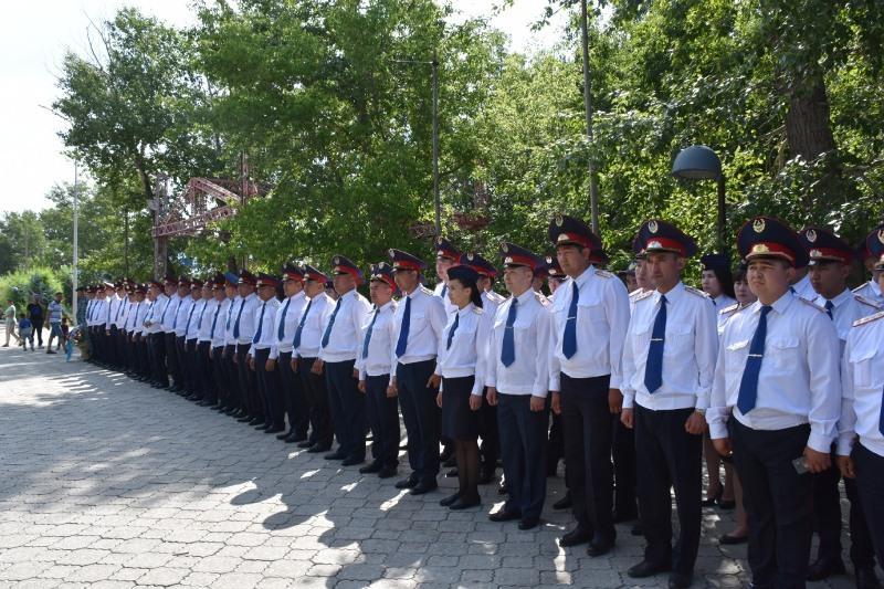 Қарағанды облысында «Қарқаралы уездік милициясының» 100 жылдығы аталып өтті