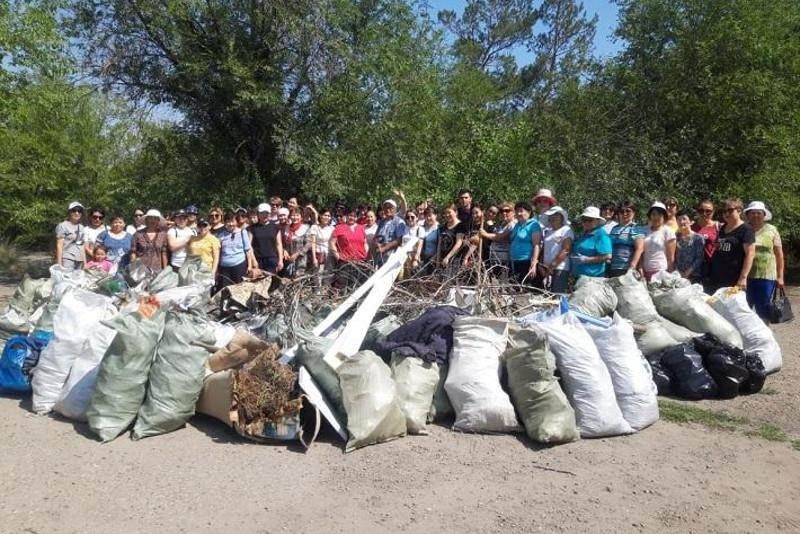 Environmental campaign: 328 tonnes of garbage collected in Semey