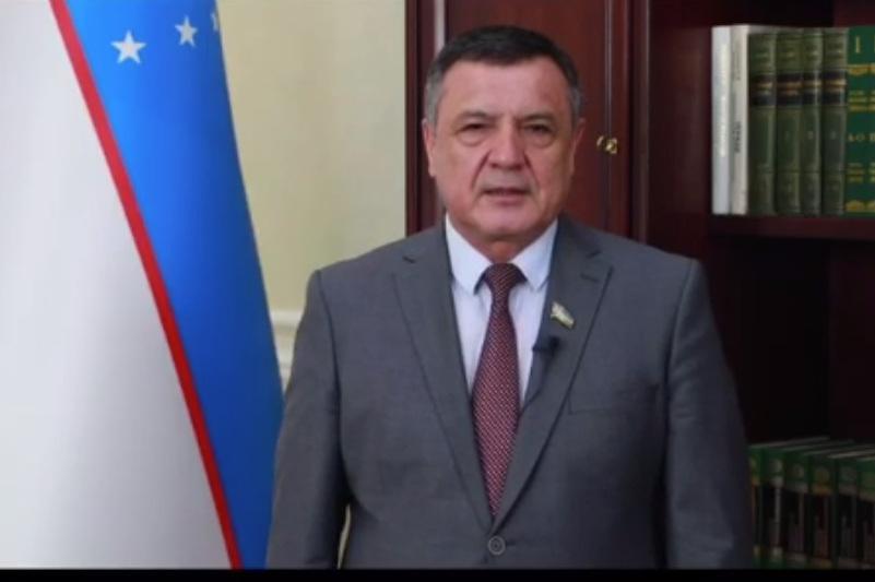 #Abai175: спикер узбекского Парламента принял эстафету от Нурлана Нигматулина