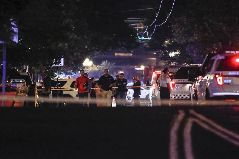 美国代顿市发生枪击事件已致10死26伤