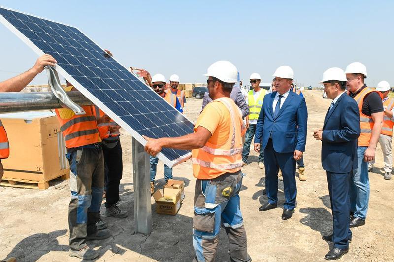 克孜勒奥尔达州一座50兆瓦光伏电站开工