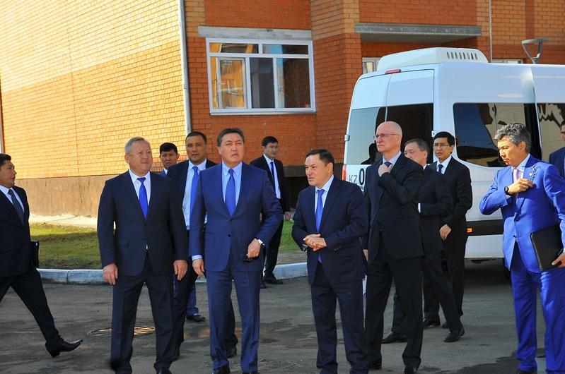 Үкімет басшысы жұмыс сапарымен Ақмола облысында болды