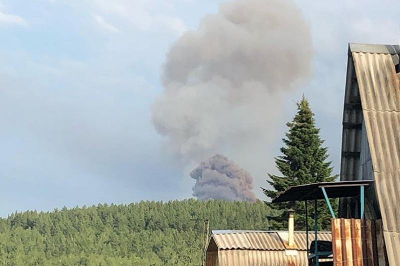 Восемь человек пострадали в результате взрыва на территории воинской части в России