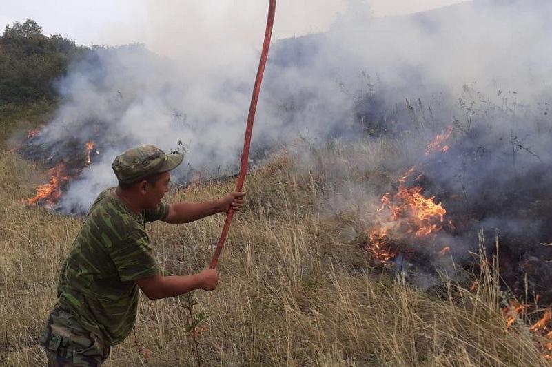 Три человека погибли при тушении пожара в Алматинской области