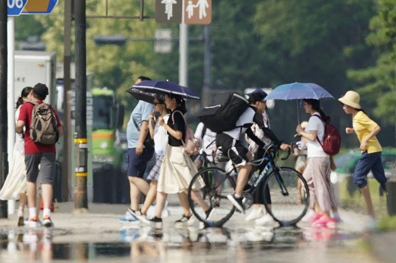 57 человек стали жертвами аномальной жары в Японии за неделю