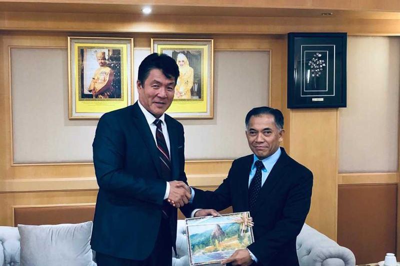 伊斯兰食品安全组织代表团访问文莱