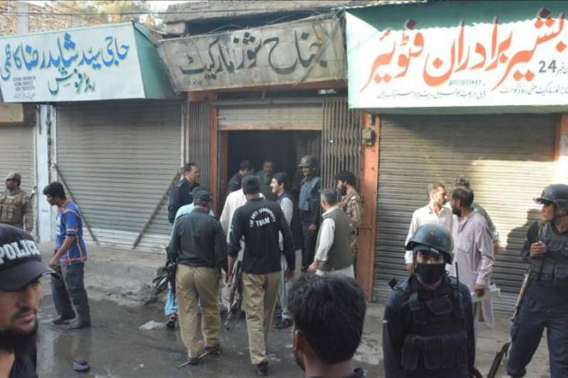 Взрыв в Пакистане: один человек погиб, девять ранены