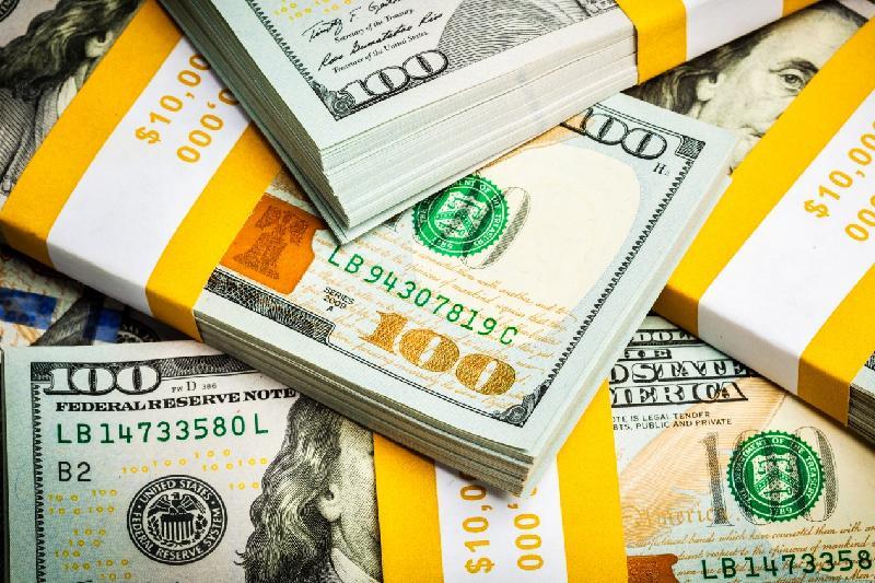 今日终盘汇率:美元兑坚戈1: 387.46