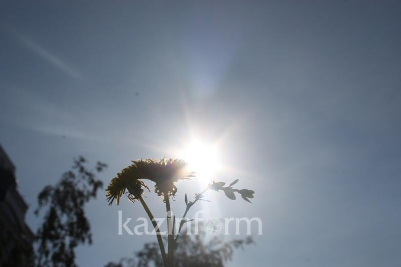 Ауа райы: Бүгін Қазақстанның басым бөлігінде күн ашық болады