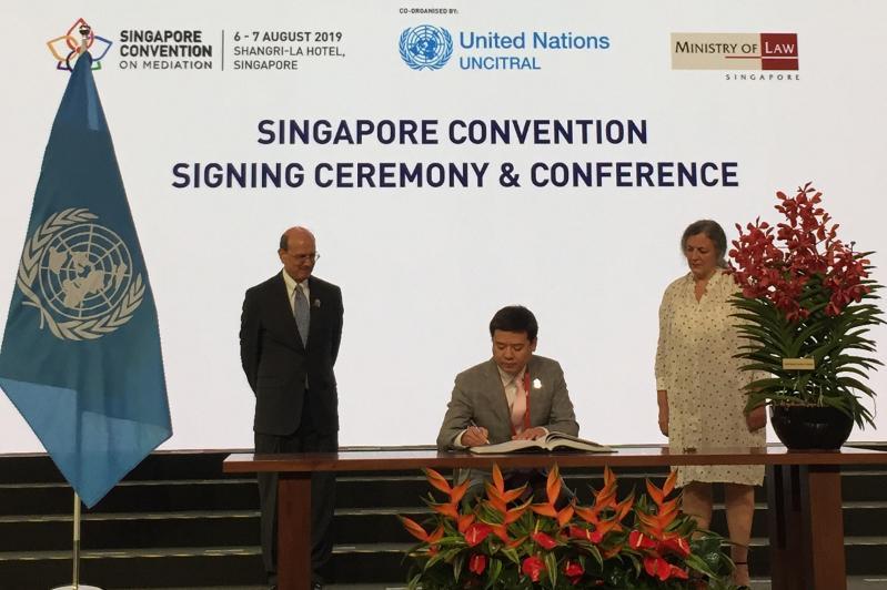 Казахстан подписал Конвенцию ООН о международных мировых соглашениях, достигнутых в результате медиации